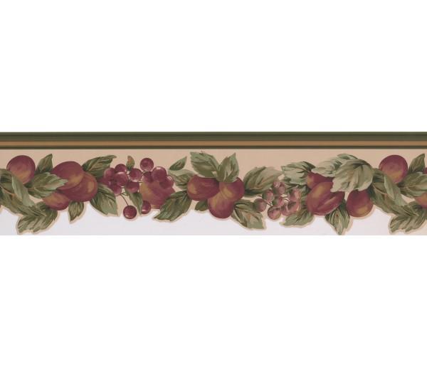Clearance: Fruits Wallpaper Border 5501802