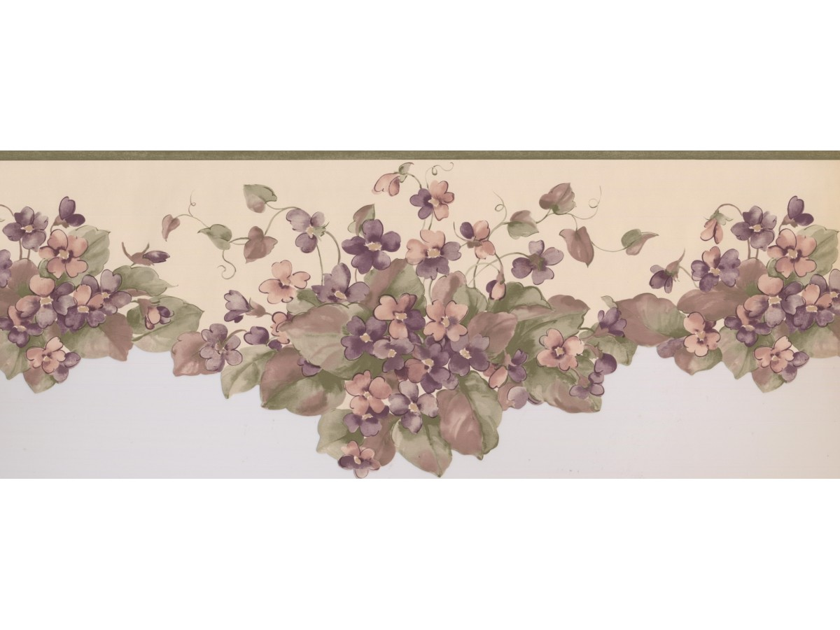 Floral Wallpaper Border 5504120
