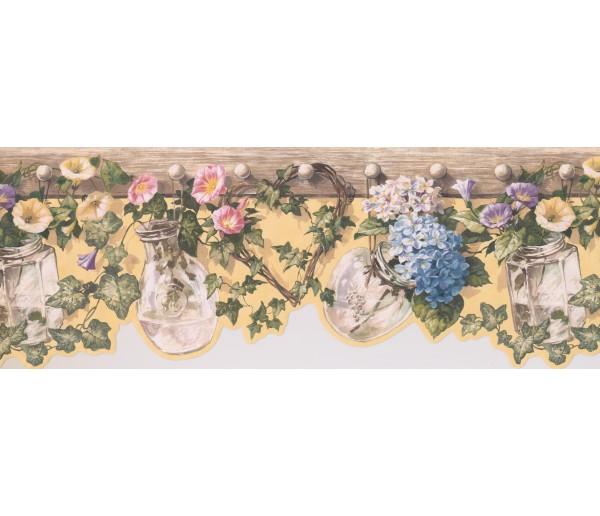 Floral Wallpaper Borders: Floral Wallpaper Border 5505681