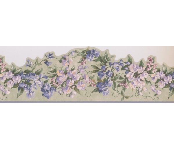 Garden Wallpaper Borders: Floral Wallpaper Border 5505713