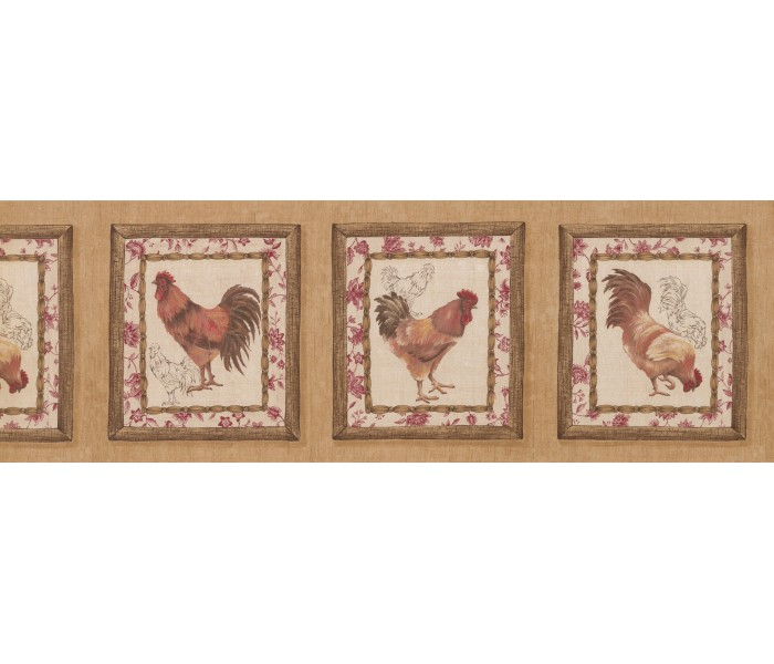 Roosters Wallpaper Borders: Roosters Wallpaper Border 5506052