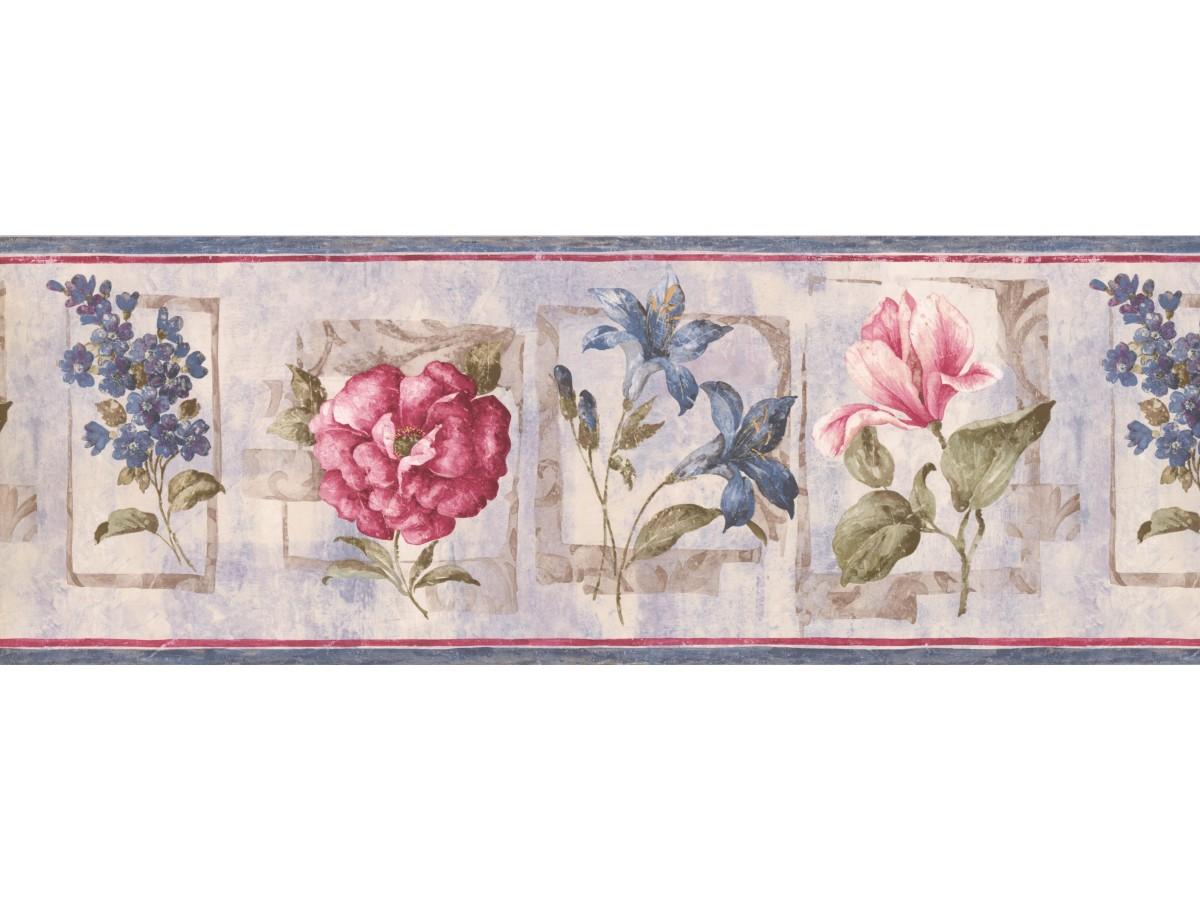 Floral Wallpaper Border 5506652
