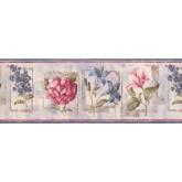 Garden Wallpaper Borders: Floral Wallpaper Border 5506652