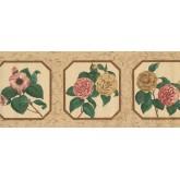 Floral Wallpaper Borders: Floral Wallpaper Border 5507230