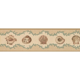 7 in x 15 ft Prepasted Wallpaper Borders - Sconch Wall Paper Border 5512000