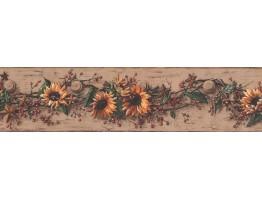 Floral Wallpaper Border 5517 CB