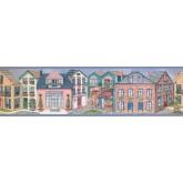 Country Wallpaper Borders: Houses Wallpaper Border 5803090