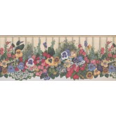 Floral Borders Floral Wallpaper Border 5806935 York Wallcoverings