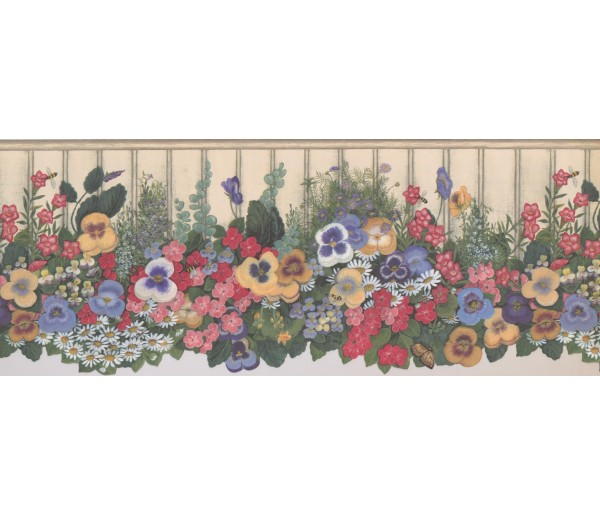 Floral Wallpaper Borders: Floral Wallpaper Border 5806935