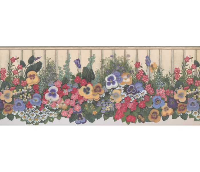 Floral Wallpaper Borders: Floral Wallpaper Border 5806935