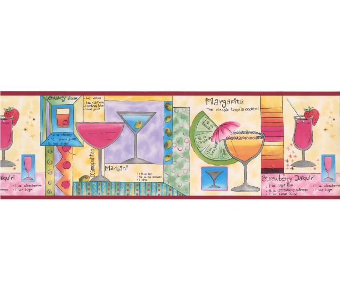 Clearance: Restaurant Wallpaper Border 5815185