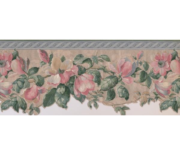 Floral Wallpaper Borders: Floral Wallpaper Border 592227
