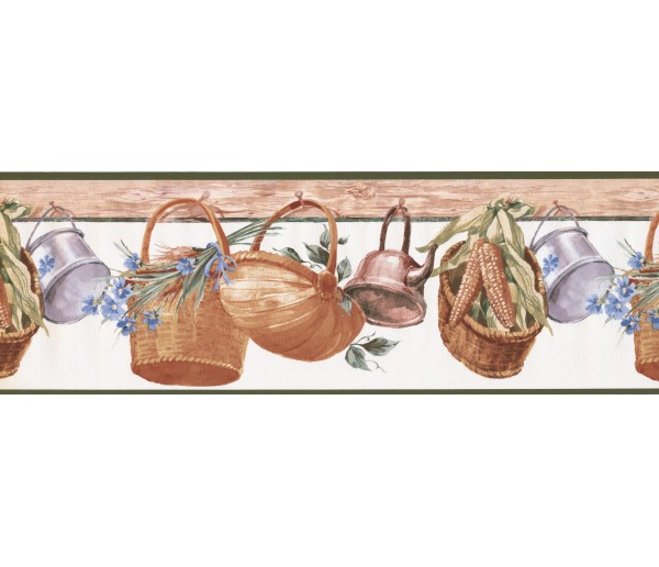 Clearance Garden Wallpaper Border 597105 York Wallcoverings