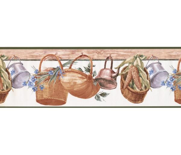 Clearance: Garden Wallpaper Border 597105