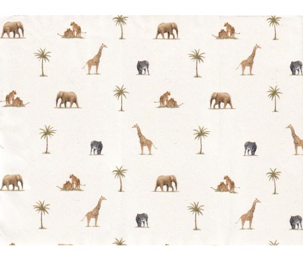 Animals Animals Wallpaper 6053PKB Fine Decor Wallcoverings