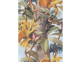 Prepasted Wallpaper Borders - Nature Wall Paper Border 6208 JV