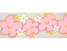 Prepasted Wallpaper Borders - Kids Wall Paper Border 6352 SK