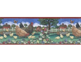 Country Wallpaper Border 66116210B