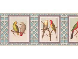 Prepasted Wallpaper Borders - Birds Wall Paper Border 687510