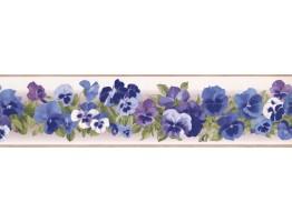 Floral Wallpaper Border 7008 KH