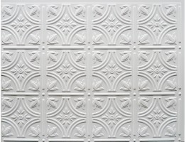Backsplash Tiles  - Decorative Thermoplastic Tile 18 X 24 Empire Paintable