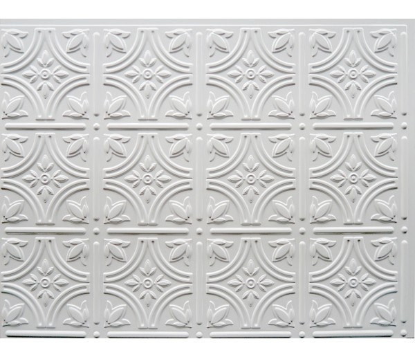 Wall Panels Backsplash Tiles  - Decorative Thermoplastic Tile 18 X 24 Empire Paintable