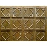 Wall Panels Backsplash Tiles  - Decorative Thermoplastic Tile 18 X 24 Artnouvo Bermuda Bronze