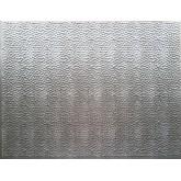 Wall Panels Backsplash Tiles  - Decorative Thermoplastic Tile 18 X 24 Lamina Crosshatch Silver