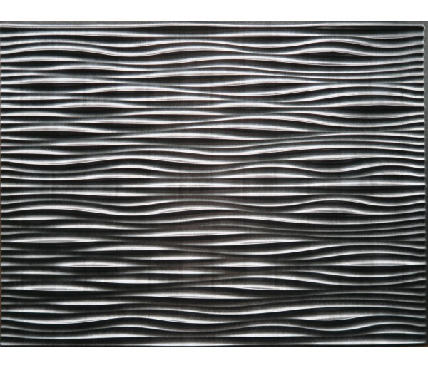 Wall Panels: Backsplash Tiles  - Decorative Thermoplastic Tile 18 X 24 Wilderness Paintable