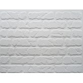 Wall Panels Backsplash Tiles  - Decorative Thermoplastic Tile 18 X 24 Bricks Paintable