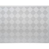 Backsplash Tiles  - Decorative Thermoplastic Tile 18 X 24 Rhombus Paintable