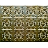 Wall Panels: Backsplash Tiles - Decorative Thermoplastic Tile 18 X 24 Empire Bermuda Bronze