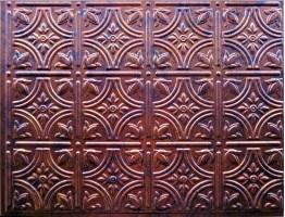 Backsplash Tiles  - Decorative Thermoplastic Tile 18 X 24 Empire Moonstone Copper
