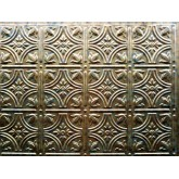 Wall Panels: Backsplash Tiles  - Decorative Thermoplastic Tile 18 X 24 Empire Cracked Copper