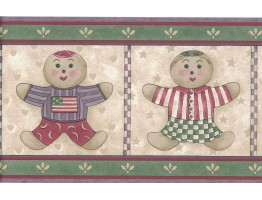 Kids Wallpaper Border 7064-709B