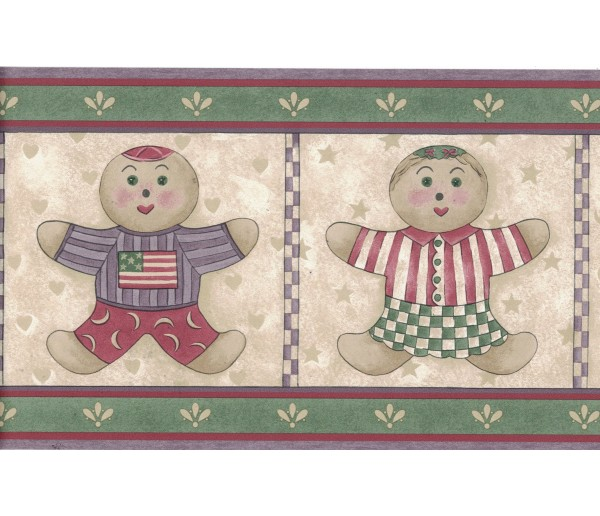 Kids Borders Kids Wallpaper Border 7064-709B