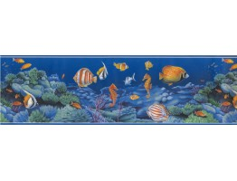 Sea World Wallpaper Border 72886 OA