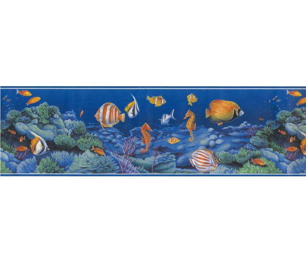 Sea World Borders Sea World Wallpaper Border 72886 OA York Wallcoverings
