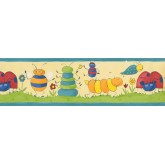 Nursery Wallpaper Borders: Kids Wallpaper Border 73511 GR