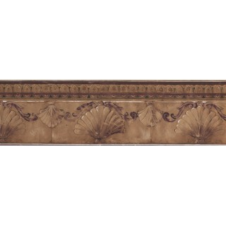7 in x 15 ft Prepasted Wallpaper Borders - Vintage Wall Paper Border 74373 KS