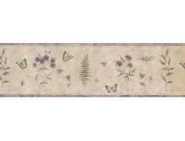 Floral Wallpaper Border 74483 SP