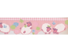 Prepasted Wallpaper Borders - Kids Wall Paper Border 74520 ZW