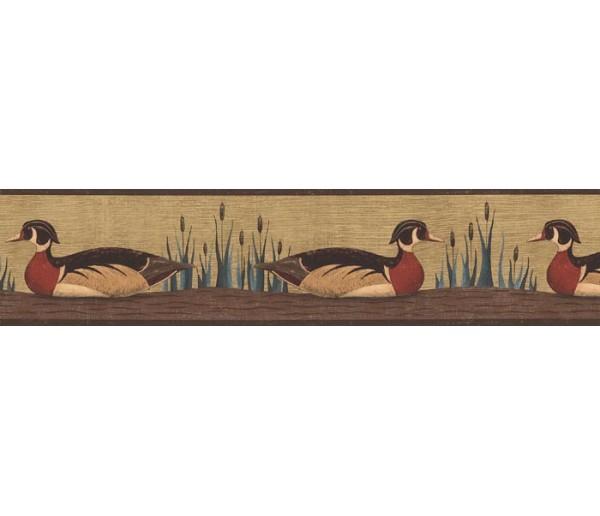 Birds Birds Wallpaper Border AP75651 S.A.MAXWELL CO.