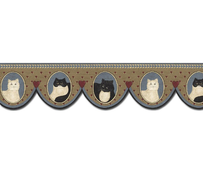 Clearance: Cats Wallpaper Border AP75688DC