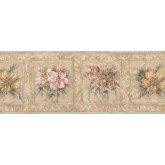Garden Borders Floral Wallpaper Border 75708 HB York Wallcoverings
