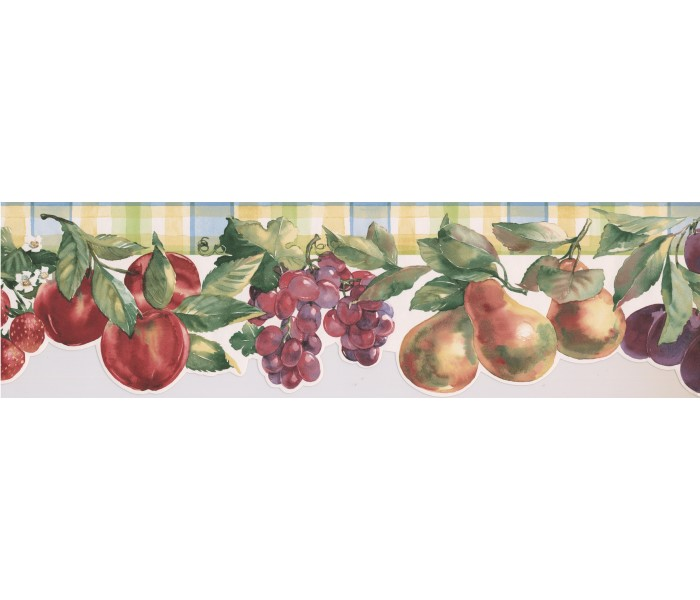 Clearance: Fruits Wallpaper Border 75974 BB