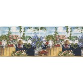 Bird Houses Birds House Wallpaper Border 75984 BB York Wallcoverings