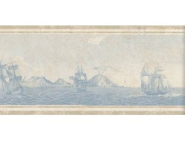 Ship Wallpaper Border 75B56770