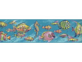 Aquarium Wallpaper Border 7601 CK