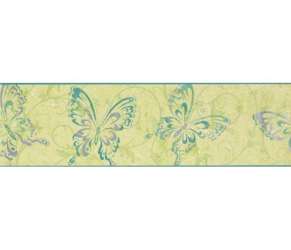 Clearance Butterfly Wallpaper Border 7610 CK York Wallcoverings